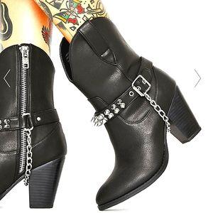 CURRENT MOOD - Punk Rodeo Cowboy Boots NIB!!